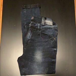 Zara men'a skinny tapered stretch jeans